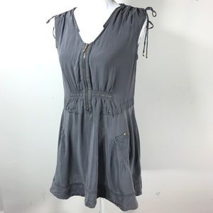 Leifsdottir silk fit and flare dress pockets